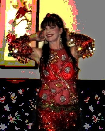 Anthea Kawakib           improvising onstage