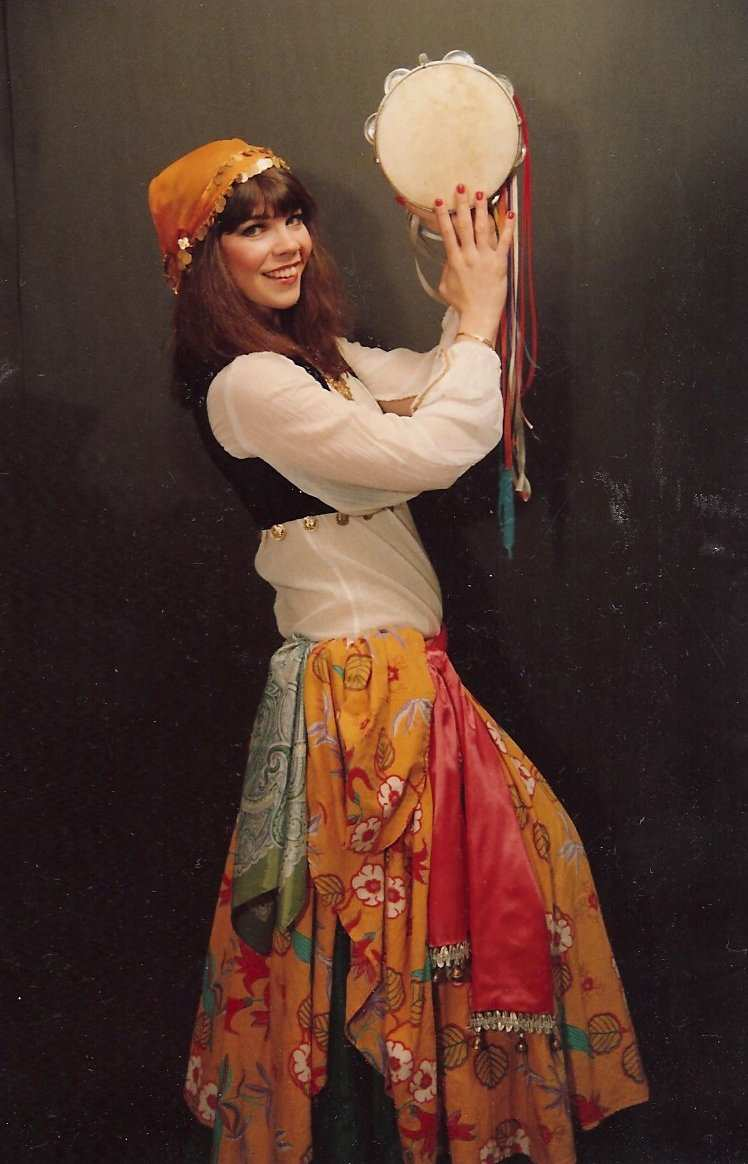 Photos from my early belly dance career, by Anthea Kawakib