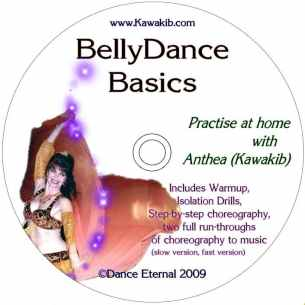 Anthea's belly dance                 basics dvd