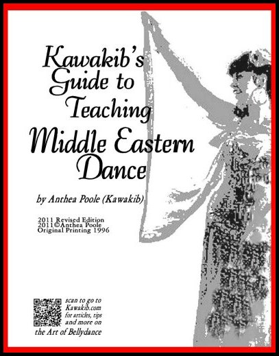 how to teach bellydance bookcover