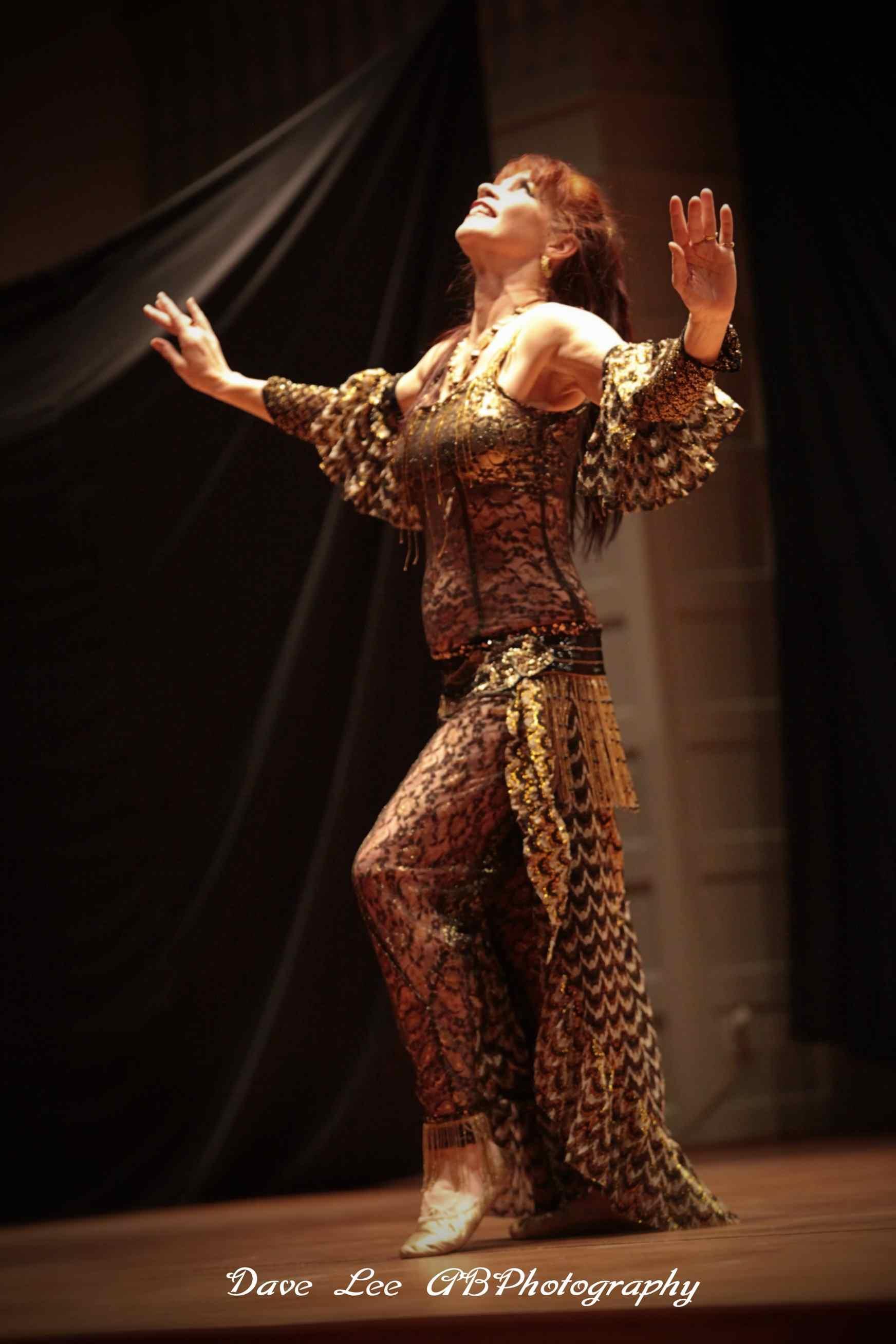 Anthea Kawakib             onstage