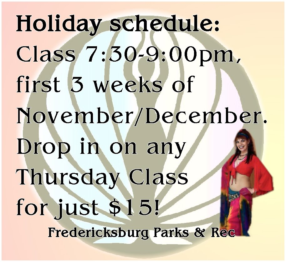 holiday classes fxbg