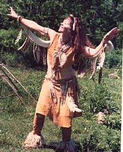 Anthea           as tribal shamaness